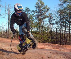 Bushpig Wheelman, G-Wheel, Gas Skateboard (CE) (ID011)