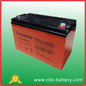 Gel Deep Cycle Battery 12V100ah Storage Battery pictures & photos
