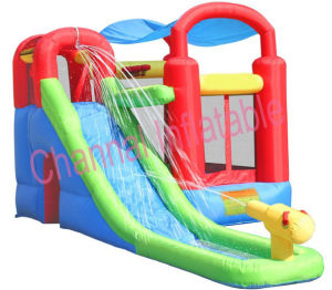Residential Inflatable Bouncer with Water Slide Combo JAC001 pictures & photos