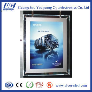 Hotsale: Double side Acrylic Crystal LED Light Box