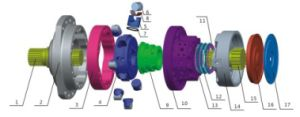 Ms/Mse Hydraulic Motor Parts pictures & photos