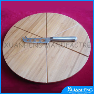 Hot-Selling Bamboo Cheese Board & Cheese Knives pictures & photos