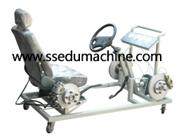 Technical Teaching Aids Educational Equipment Hydraulic Brake System Training Stand