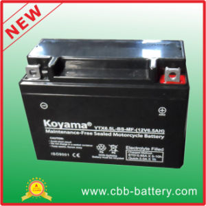 12V6.5ah Ytx6.5L-BS-Mf Maintenance-Free Motorcycle Battery pictures & photos