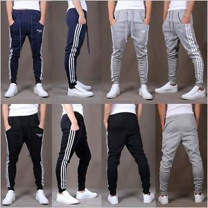 Man′s Boy′s Cotton Sports Pants Gym Casual Long Trousers pictures & photos