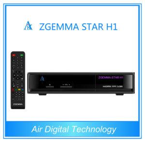 Original Zgemma-Star H1 Twin Tuner Enigma2 DVB-S2+C Digital Satellite Receiver pictures & photos