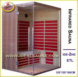New Arrival Walnut Infrared Sauna (IDS-2HG)