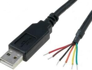1.8m Ft232rl USB Ttl 3.3V Cable, Compatible Ttl-232r-3V3-We pictures & photos