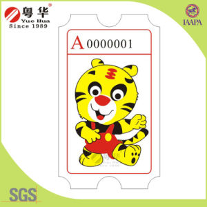 Special Design Custom Redemption Ticket for Arcade Machine pictures & photos