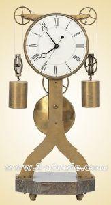 Brass Tower Imitation Antique Clock (JGG05)