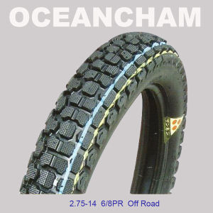 2.75-14 Tt China Manufacturer Certificate Motorcycle Tire