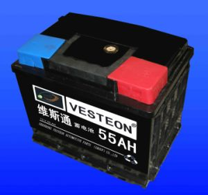 Batteries Lead Acid with Mf Battery Dry Charged Battery JIS65 pictures & photos