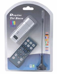 USB TV Tuner, HDTV Receiver Dongle DVB-T (K-D88)