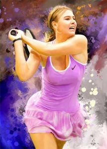 Maria Sharapova Painting