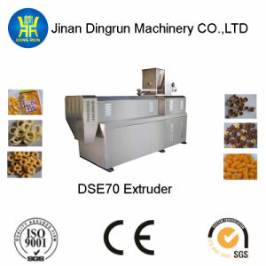 Extruded Corn Snack Food Making Machine (DSE70-III) pictures & photos