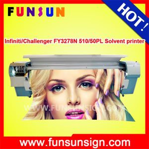 Infiniti / Challenger Fy3278n 3.2m/10FT Fast Printing Speed Outdoor Flex Banner Printing Machine 157sqm Per Hour pictures & photos