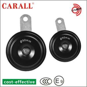 Carall L90 Automechanika Bell Alarm Brand New Twin Pack Power Magic Voice Ring Tone DC 12V Auto Parts E9 Speaker Disc Car Horn pictures & photos