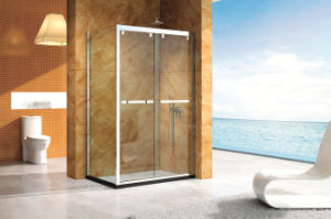 High Quality Stainless Steel Frame Shower Doors Hs-2822f