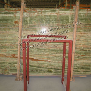 Green Onyx Marble Slabs pictures & photos