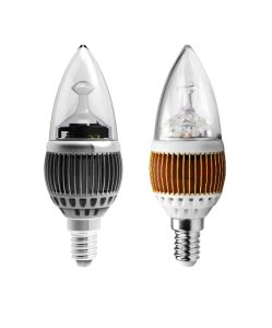 3W E27 LED Candle Light Lamp (PK-G40-3)