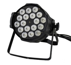 18 *10W RGBW 4in1 LED PAR Can for Indoor pictures & photos