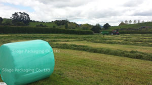 Black/Green/White Silage Wrap Film Width250mm/500mm/750mm, Length1500mm/1800mm, Thickness 25um pictures & photos