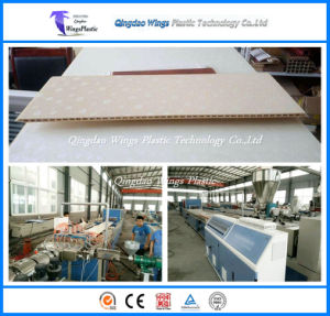 WPC Making Machine for Decorative WPC Wall Panel Home Decor Interior pictures & photos