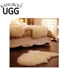 Genuine Australian Sheepskin Single Rug Baby Rug Pelt White pictures & photos
