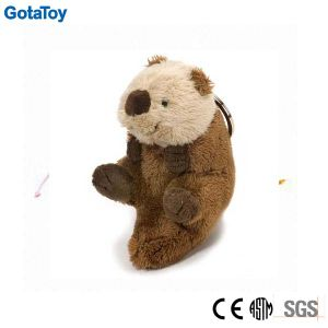 Custom Plush Toy Sea Otter Keychain Stuffed Soft Toy Keyring pictures & photos