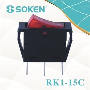 Soken Rk1-15c Water Proof Rocker Switch pictures & photos