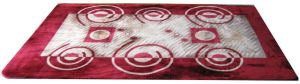 Most Popular 100% Polyester Printed Modern Area Rugs pictures & photos