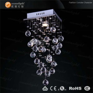 Beautiful Crystal Chandelier Lighting, Lovely Pendant Lamp China Factory (OM6818) pictures & photos