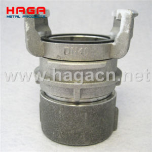 Aluminum Guillemin Coupling Female Thread with Locking Ring pictures & photos