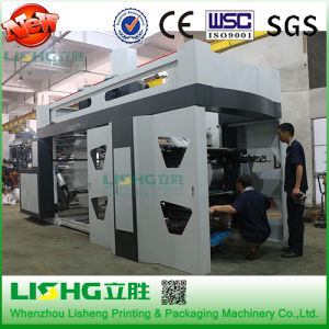 BOPP/PE Flexible Film Ci Flexographic Printing Machine pictures & photos