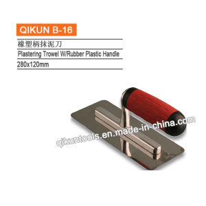 B-02 Plastic Handle Plastering Trowel pictures & photos