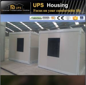 Modern Design 20FT Shipping Container House Double Floor Apartment pictures & photos