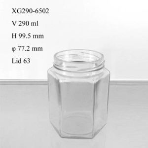 Glass Food Jar 290ml (XG290-6502) pictures & photos