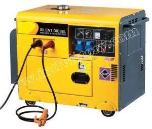 5kVA Silent Diesel Welding Generator with CE/Soncap/Ciq Certifications pictures & photos