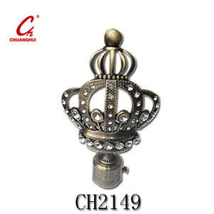 Tube Head Hardware Curtain Cap (CH2149) pictures & photos