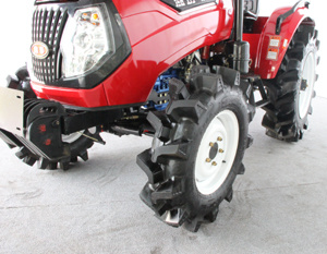 Best New China Tractor 55HP Tractor with Paddy Wheel pictures & photos