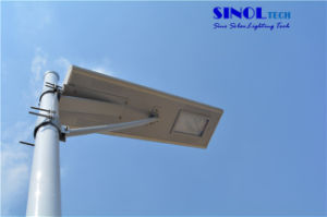 80W All in One Design Solar Powered LED Street Lights for Highway (SNSTY-280) pictures & photos
