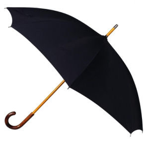 Manual Open Wooden Frame Straight Umbrella (BD-01) pictures & photos
