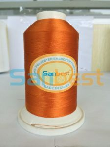 100% High Strength Polyester Bobbins Embroidery Thread for Shoes pictures & photos