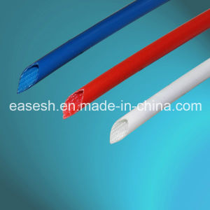Manufacture Fiberglass and Silicone Rubber Cable Braided Sleeving pictures & photos