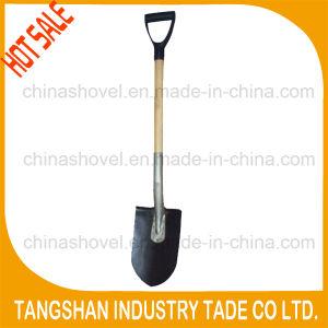 Hot Sale Minning Wood Hanlde Steel Shovel pictures & photos