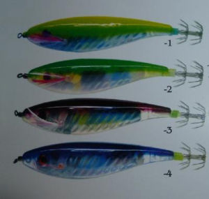 New Transparant Squid Jig (S-98) pictures & photos