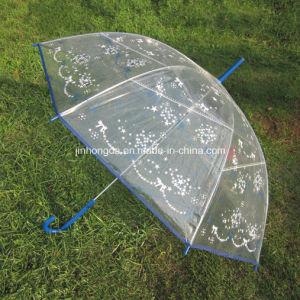 23inch Heat Transfer Print Poe Straight Umbrella (YSS0062)