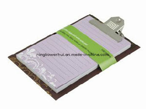 Custom Top Quality Eco-Friendly Clipboard Notepad Memo Cube
