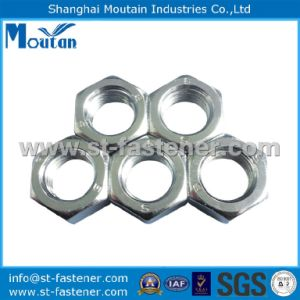 Carbon Steel Hex Nuts DIN934 Zinc Plated