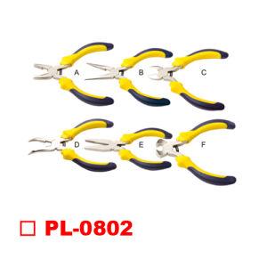 6PCS Mini Pliers Two Color Handle Set pictures & photos